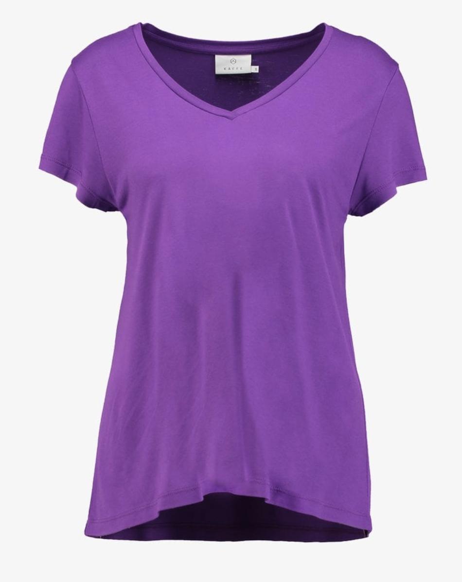 Bright purple top