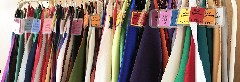 12 tone personal colour analysis drapes