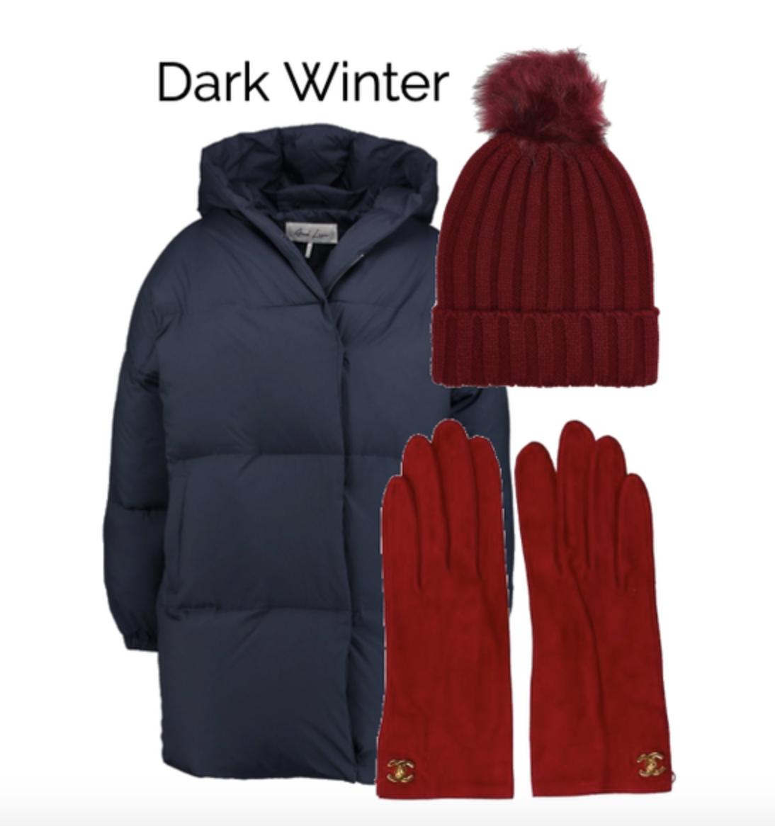 Winter coat for Dark Winter