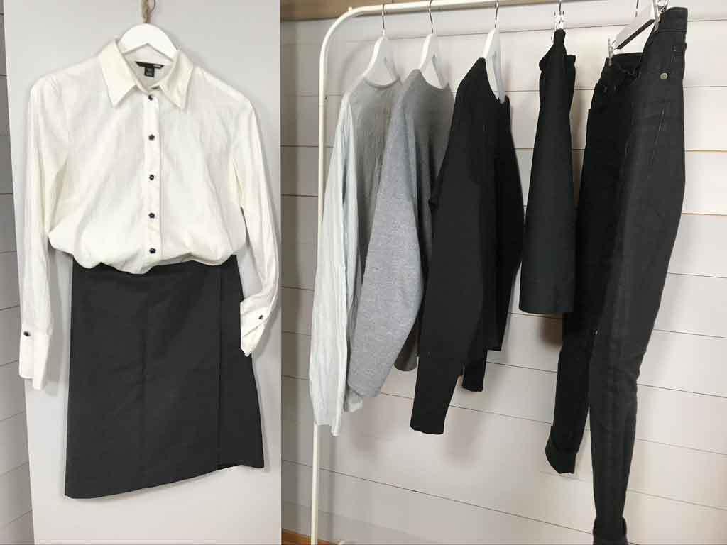 Nordic Simplicity basic capsule wardrobe