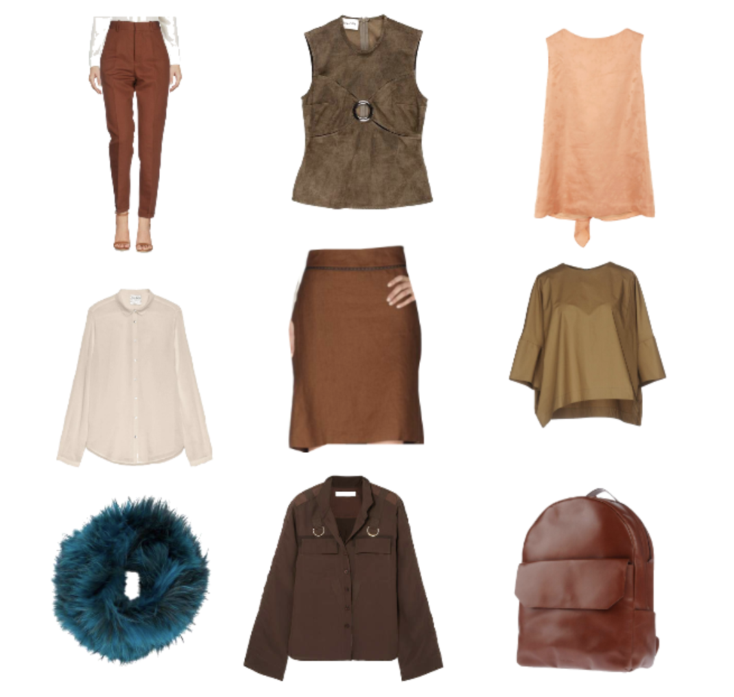 True Autumn grid with items