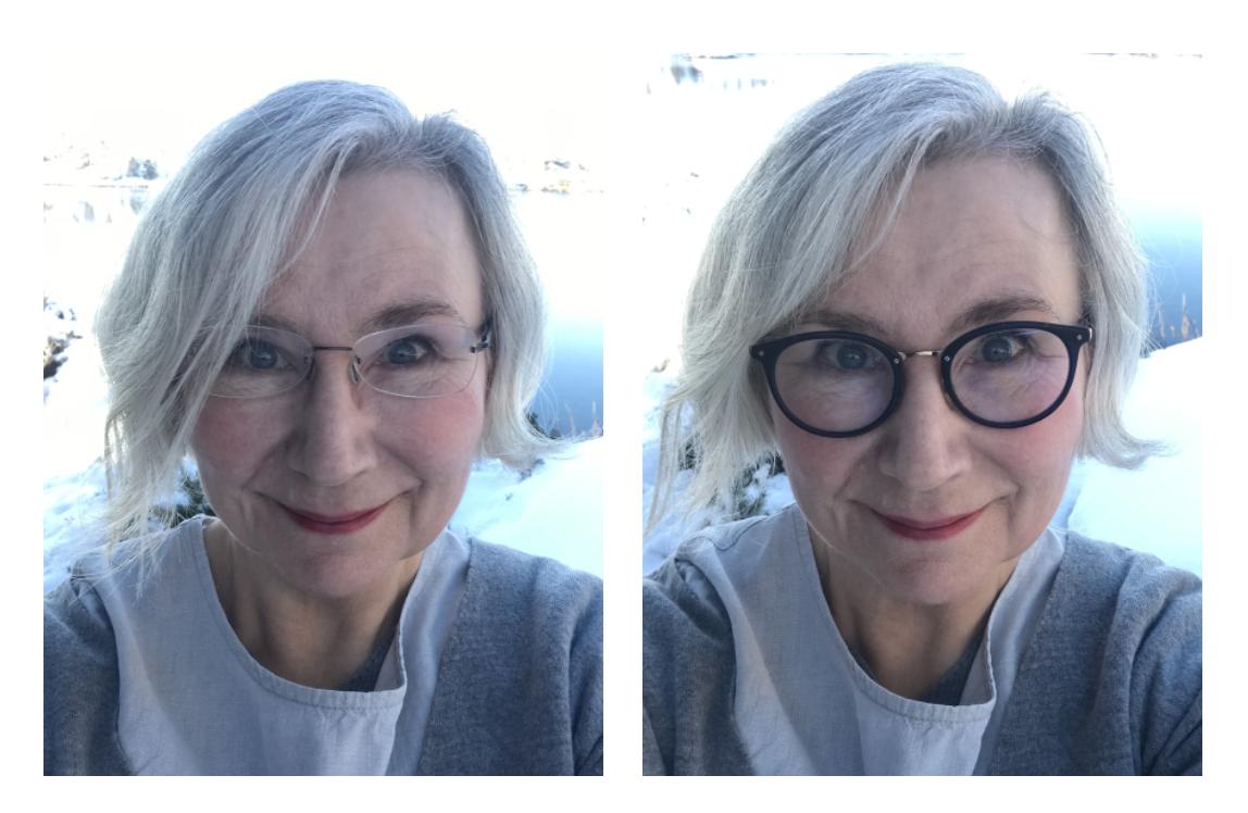 rimless vs statement glasses