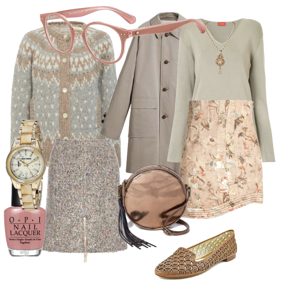 Soft Autumn casual chic outfits