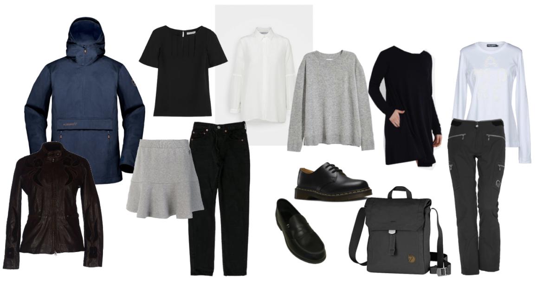 10 item real life wardrobe