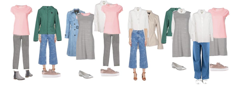 Light Summer 10 item wardrobe