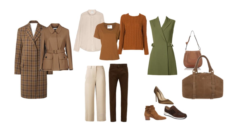 10 item wardrobe for an Autumn