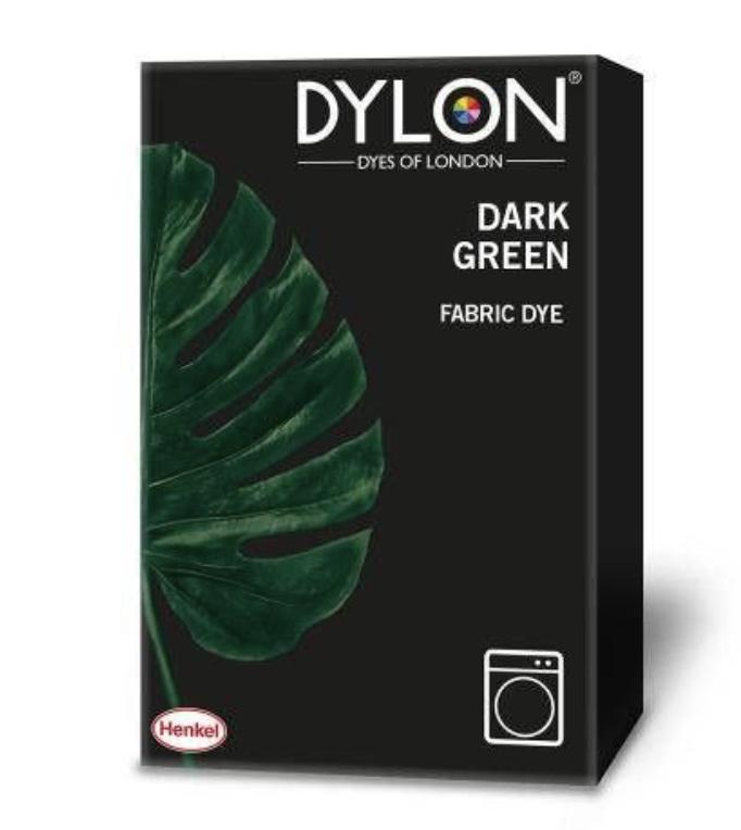 Dylon fabric dye dark green