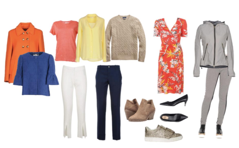 Bright Spring 10 item wardrobe