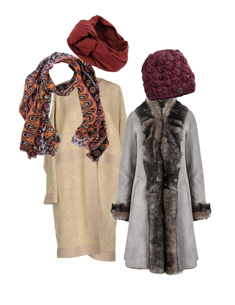 Winter coats for Relaxed style type
