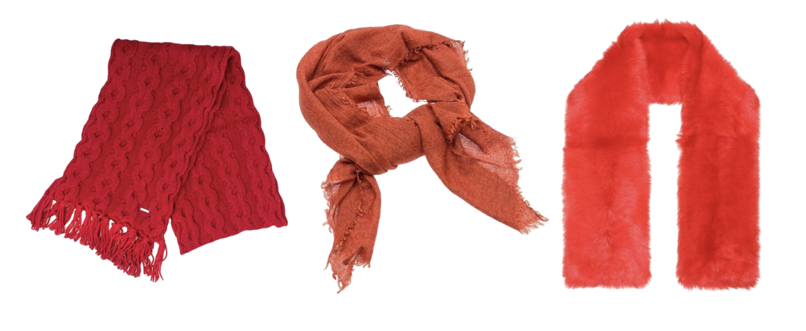 Scarfes that make your skin glow